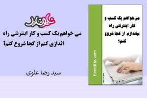 کتاب می خواهم یک کسب وکار اینترنتی راه اندازی کنم از سید رضا علوی