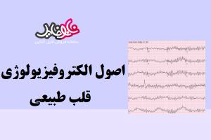 مقاله اصول الکتروفیزیولوژی قلب طبیعی