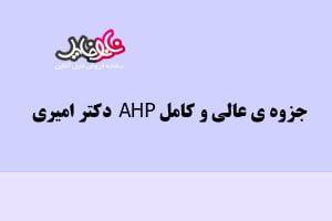 جزوه عالی و کامل AHP دکتر امیری