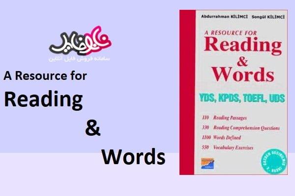 کتاب A resource for reading and words
